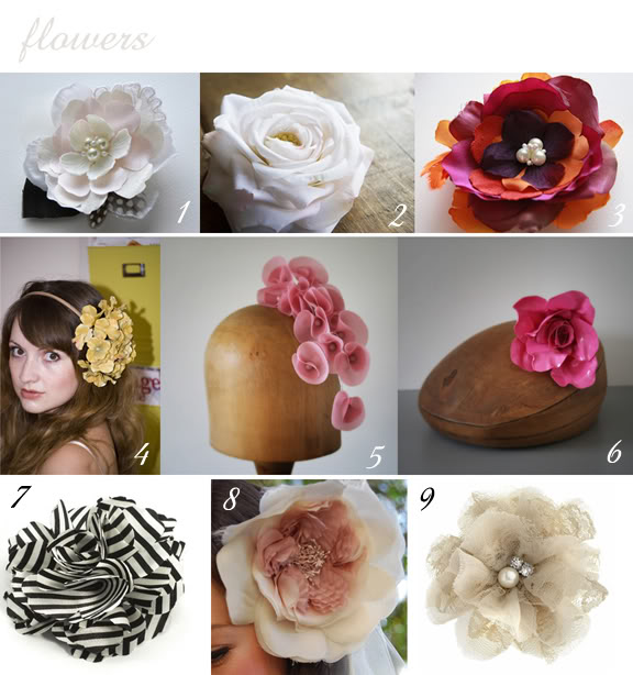 Peonies and Polaroids: What To Wear on Your Head When You Wed | A Practical Wedding