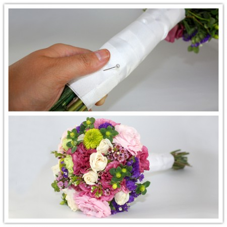 How To: Make A Wedding Bouquet | A Practical Wedding