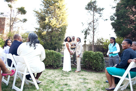 outdoor dc wedding