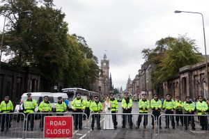 Edinburgh Wedding During a Riot (7)