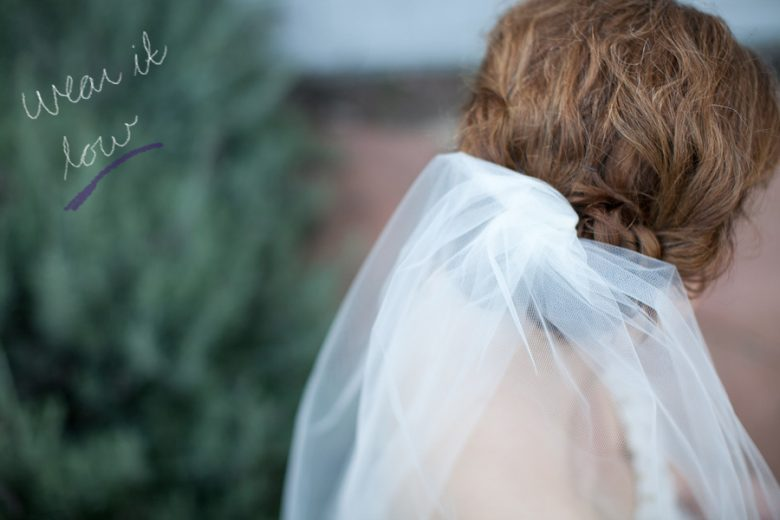 How To Make a Simple Tulle Bridal Veil (18)