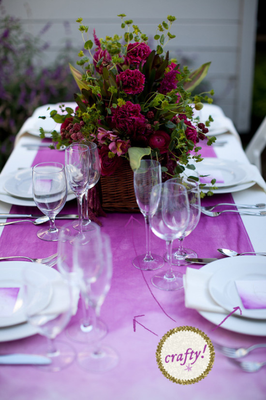 How To Make A Slightly Fancier, But Still Totally Easy Tablescape | A Practical Wedding