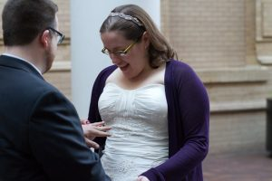 Denver Museum of Science & Nature Guerrilla Elopement (4) | A Practical Wedding