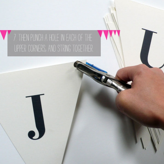 How To: Free Downloadable Wedding Banner From A Printable Press | A Practical Wedding