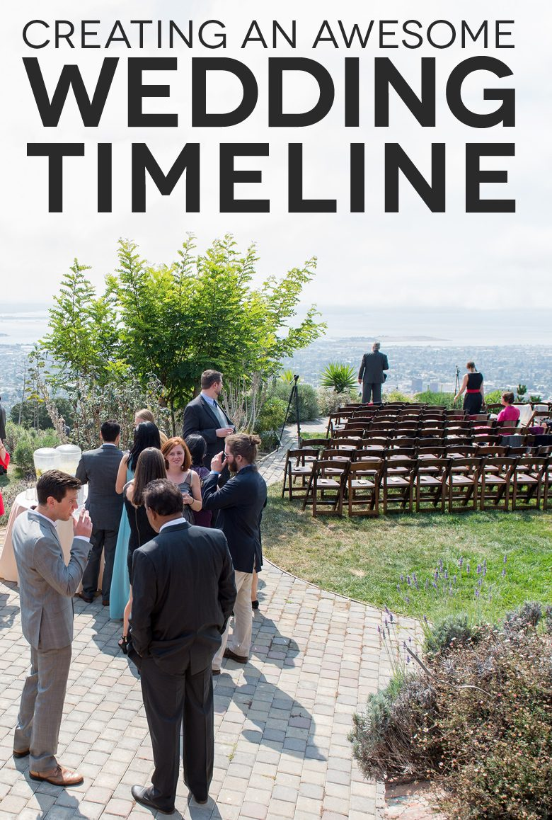 (Almost) Everything You Wanted to Know About Wedding Timelines | A Practical Wedding