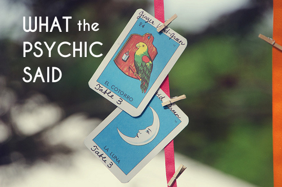 Elisabeth: What the Psychic Said | A Practical Wedding