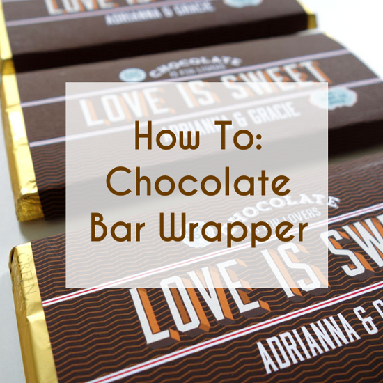 How To Free Downloadable Customized Chocolate Bar