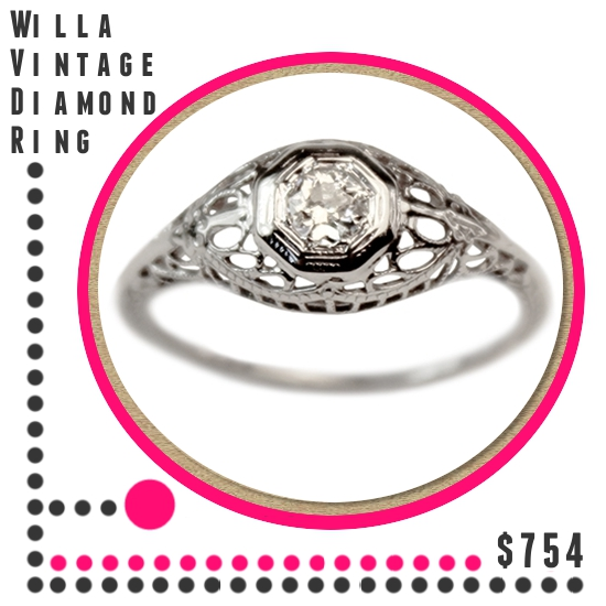 Five Engagement Rings Under $1000 From TurtleLove.com | A Practical Wedding