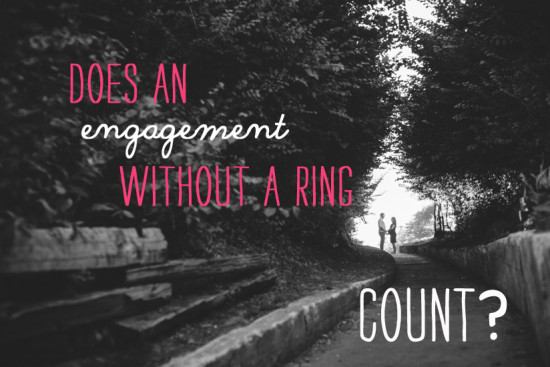 Ask Team Practical: Ring less Engagement | A Practical Wedding