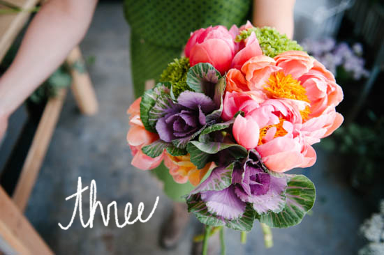 How To Make A Colorful Oversized Wedding Bouquet | A Practical Wedding