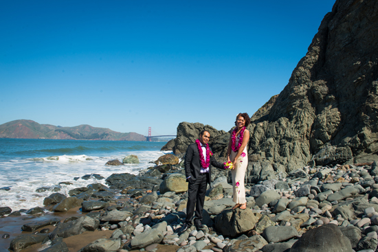 Matha & Phils Whirlwind China Beach Blessing Ceremony | A Practical Wedding