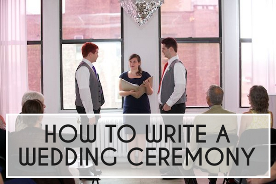 How To: Write Your Wedding Ceremony | A Practical Wedding