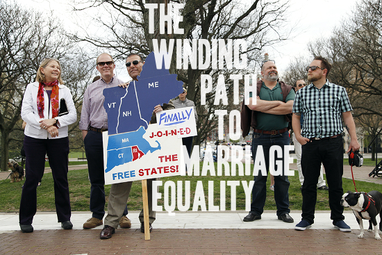 The Winding Path to Marriage Equality | A Practical Wedding