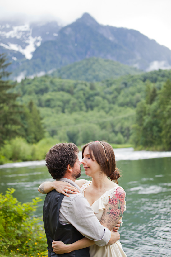 Stephanie & Brandts Washington Cabin Wedding | A Practical Wedding
