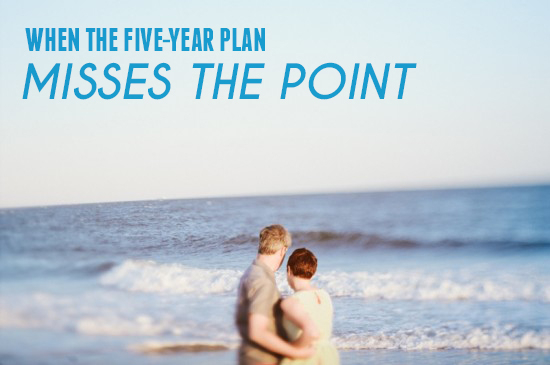 When The Five Year Plan Misses The Point | A Practical Wedding