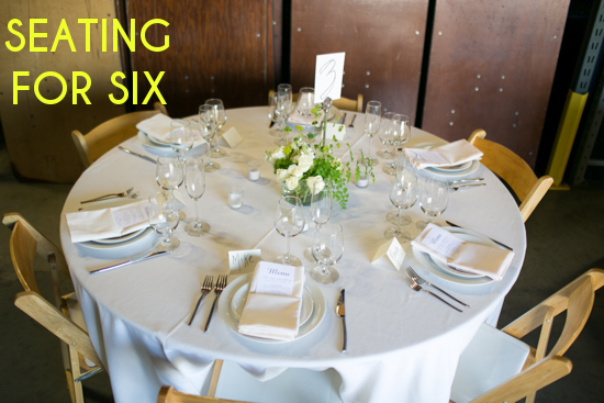 Get Sh*t Done: Seating Chart Tips | A Practical Wedding