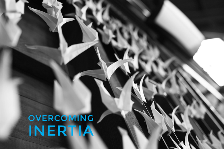 Overcoming Inertia | A Practical Wedding