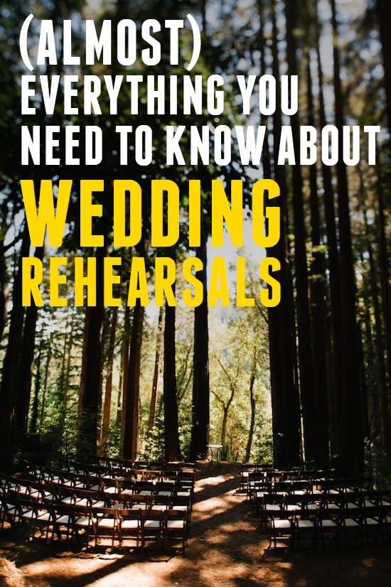 Get Sh*t Done: (Almost) Everything You Need to Know About Rehearsals | A Practical Wedding