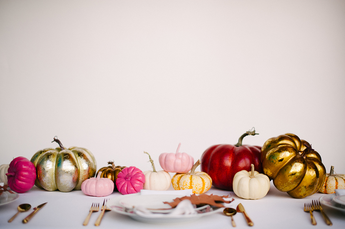 How To: Non-Floral Centerpiece For Fall