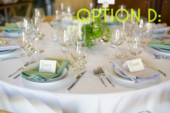 Get Sh*t Done: How to Set A Table | A Practical Wedding