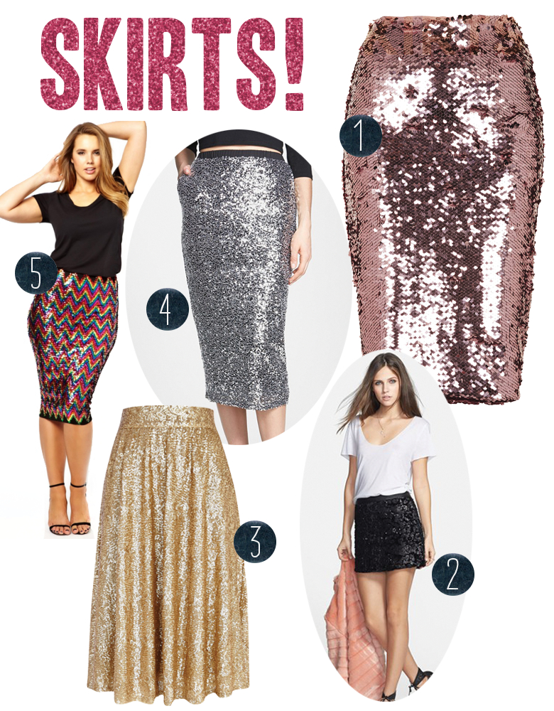 Sequin Holiday Dresses | A Practical Wedding