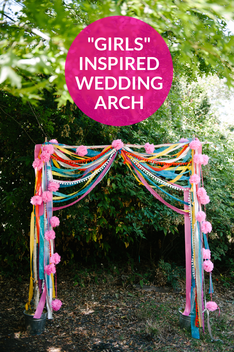 How To: Girls Inspired Wedding Arch | A Practical Wedding
