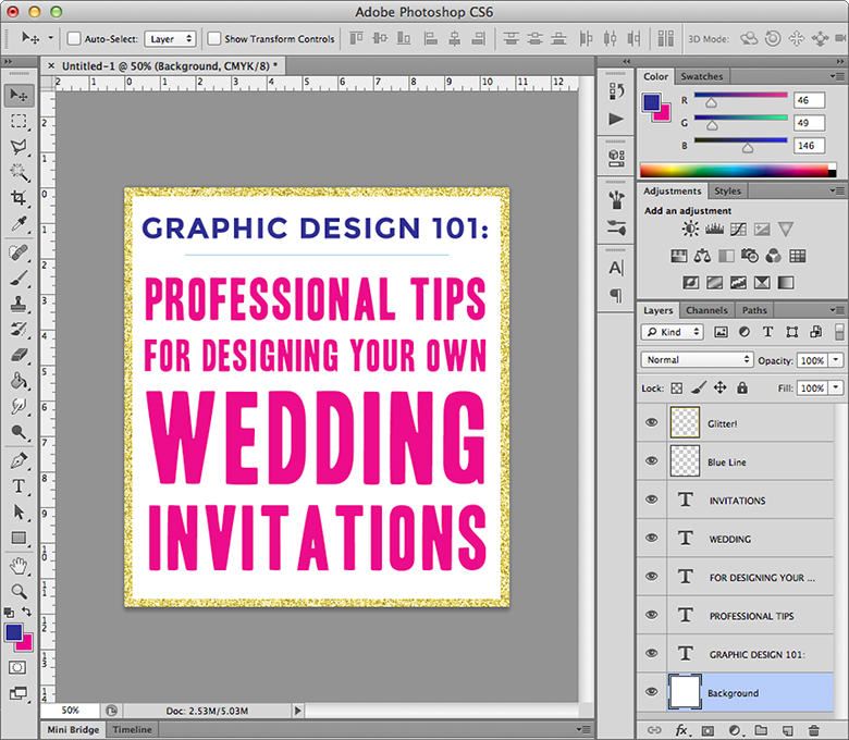 Invitation Design 101 | A Practical Wedding
