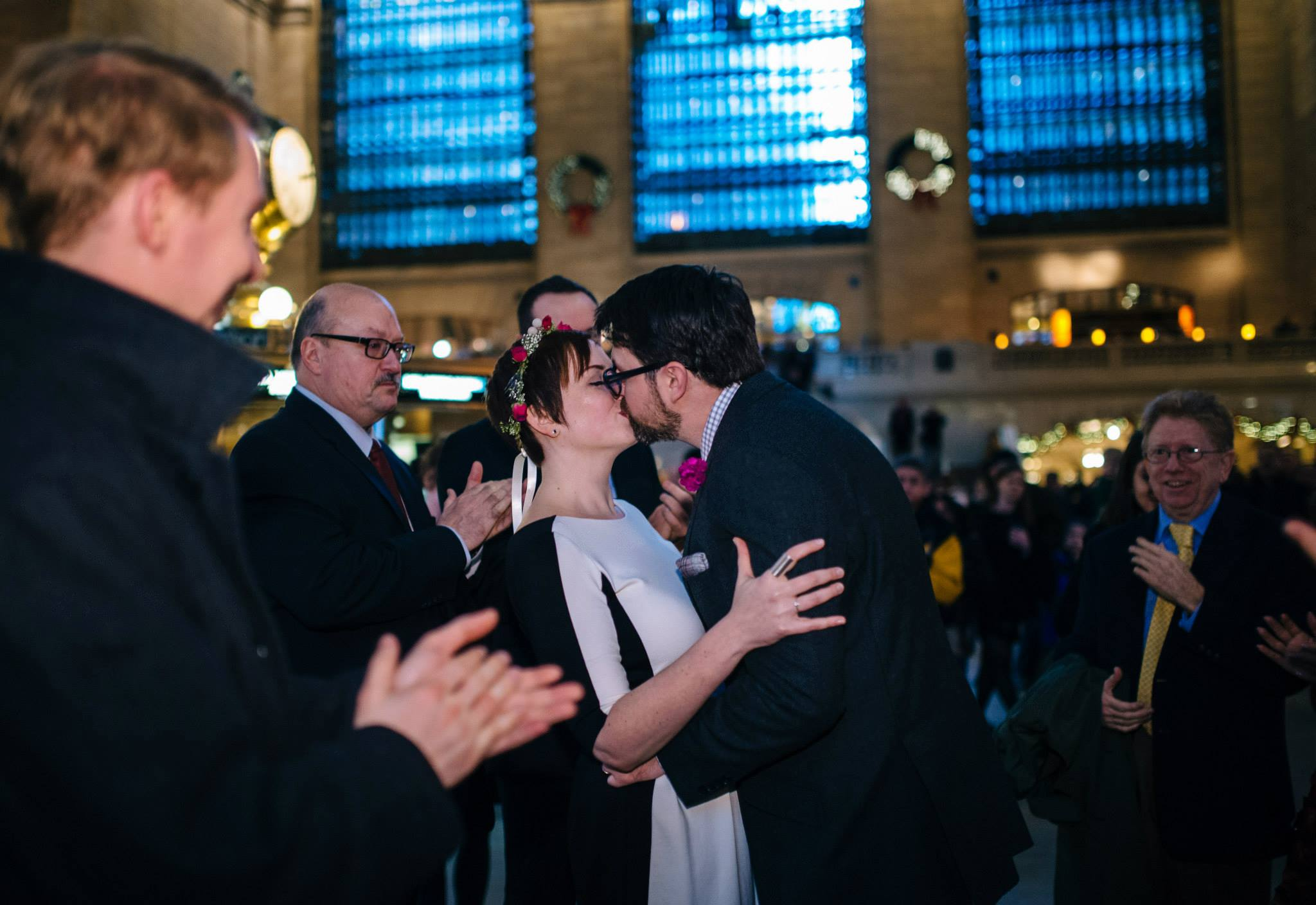An Elopement In Grand Central Terminal | A Practical Wedding