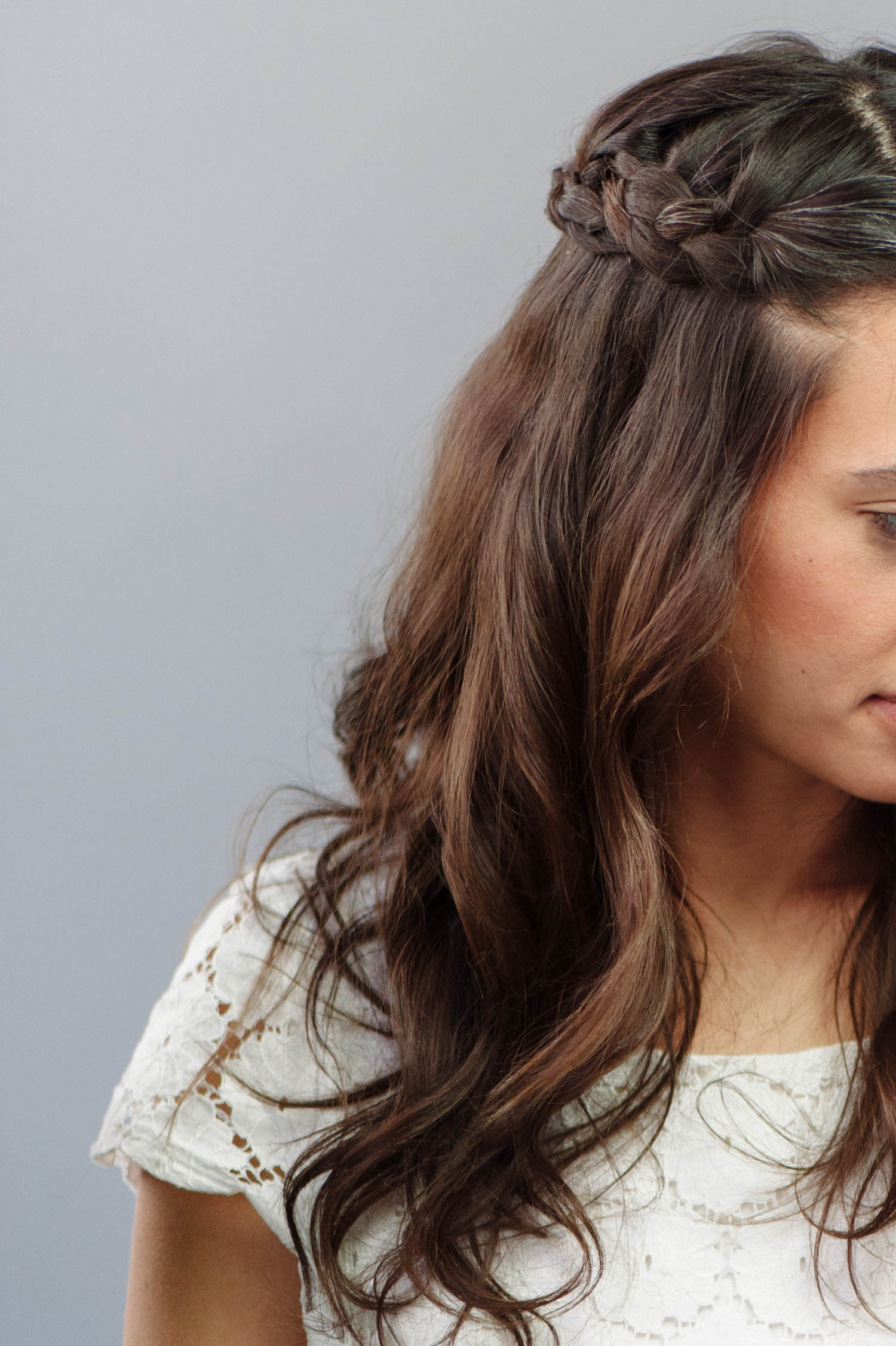 how to braided wedding hair for beginners