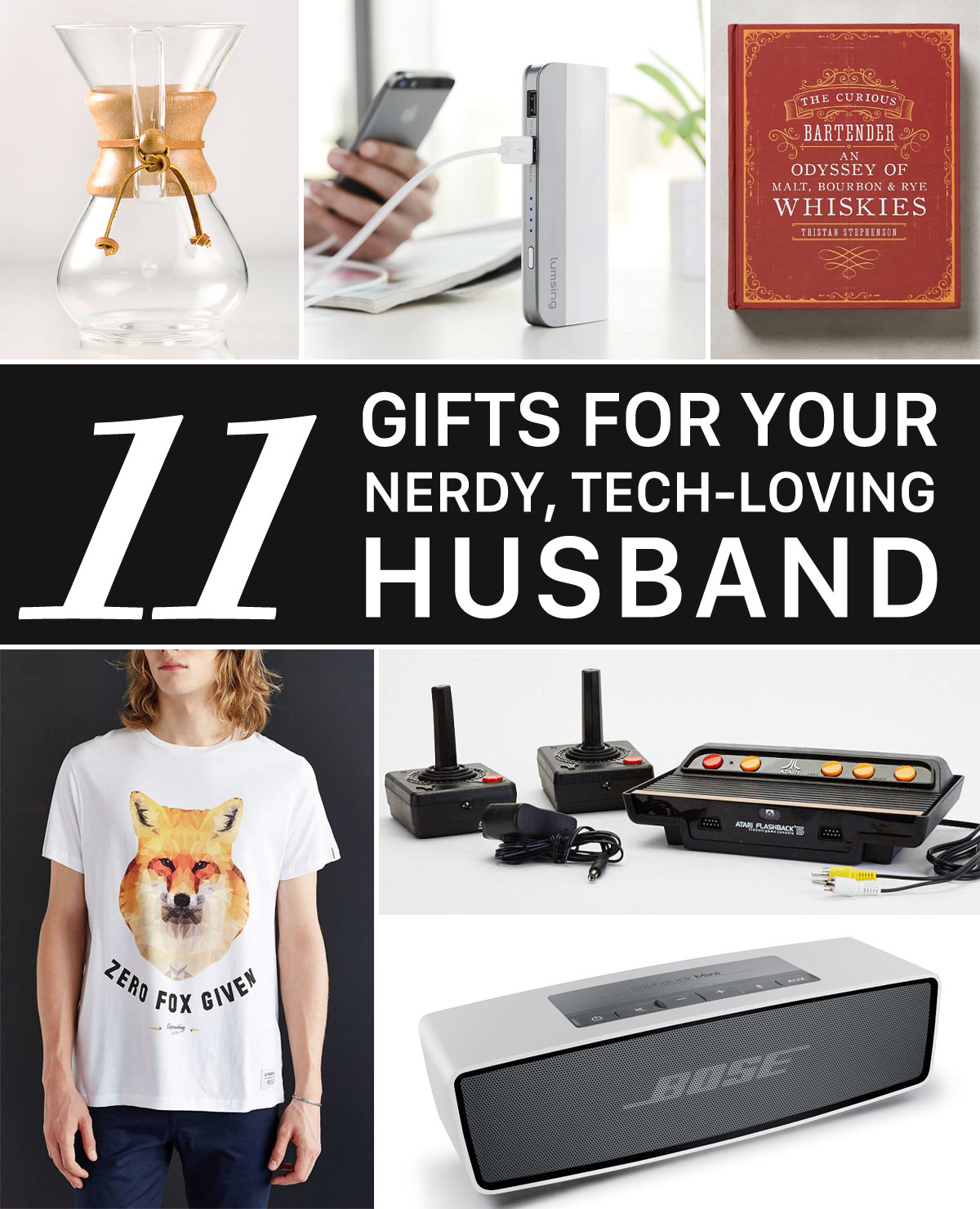 Holiday Gift Guide #2: For Your Nerdy, Tech-Loving Husband