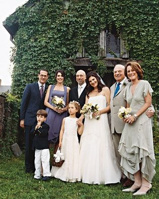Family As Wedding Party | A Practical Wedding