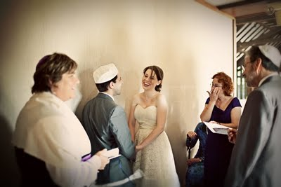 At Our Ketubah Signing: | A Practical Wedding