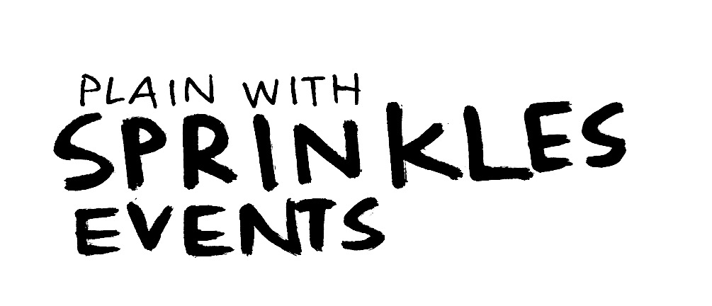 PLAIN WITH SPRINKLES EVENTS logo