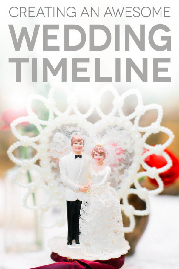 A Complete Wedding Timeline Six Ways A Practical Wedding