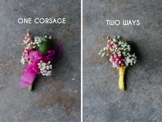 How To Make Wedding Bouquets And Corsages : How to make a corsage