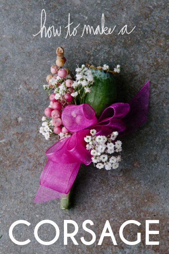 How To Make A Corsage A Practical Wedding