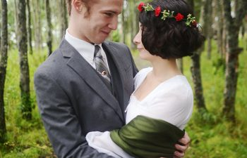 Nina & Vic's Private Alaskan Wedding | A Practical Wedding (1)
