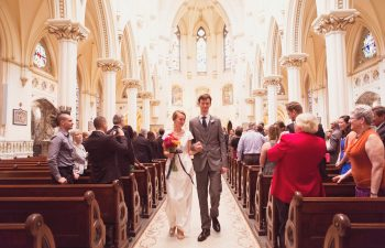 April & Scott's Gorgeous Catholic Church Wedding | A Practical Wedding (12)