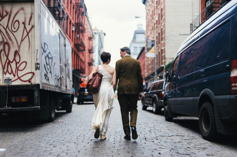 SoHo Bookstore Wedding | A Practical Wedding