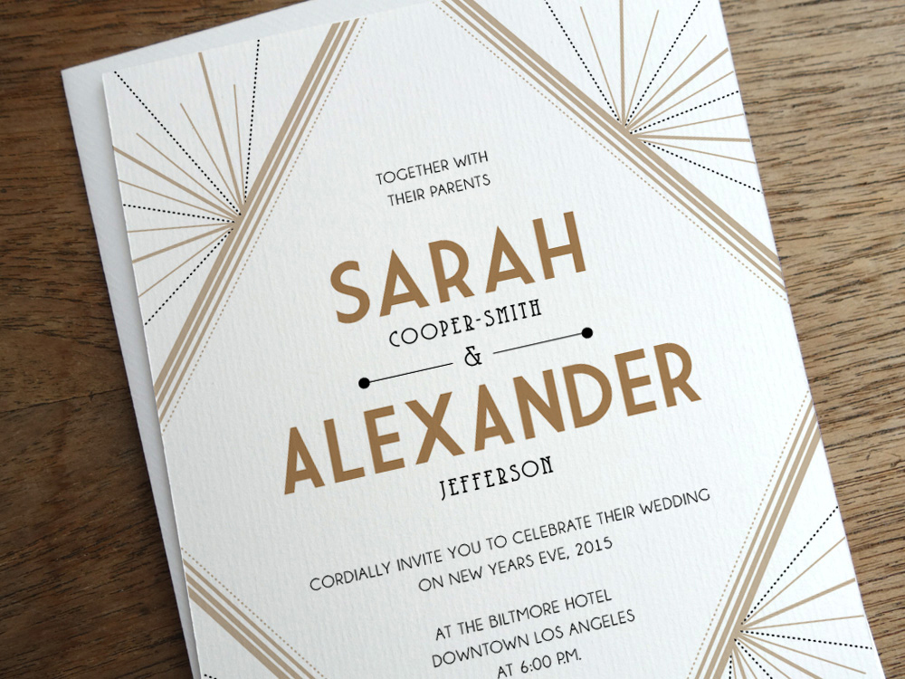 get modern wedding invitations from empapers - Modern Wedding Invitations