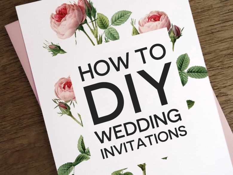 How To DIY Wedding Invitations A Practical Wedding Were Your – Do It Yourself Wedding Invitations Ideas