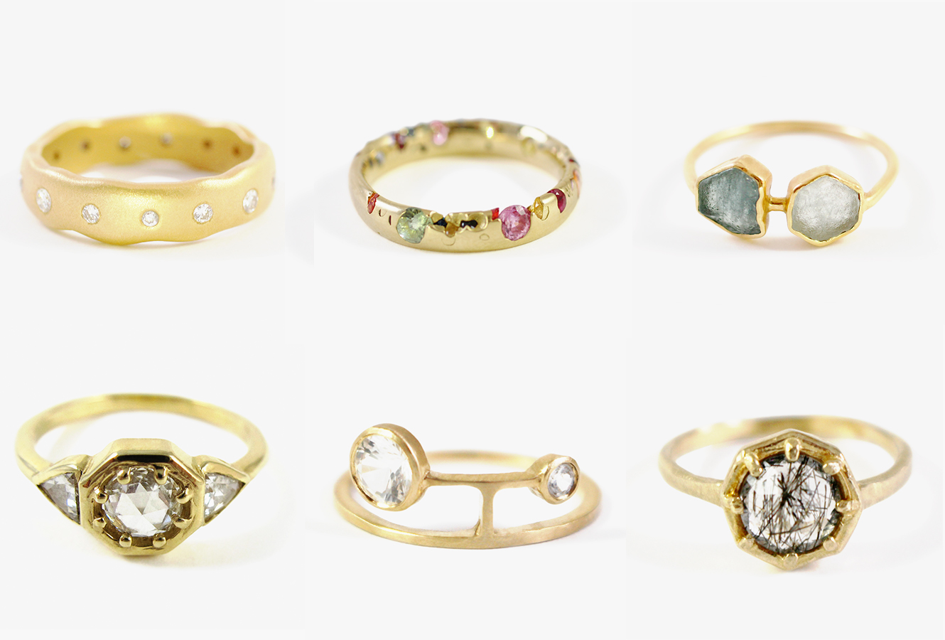 New Stone Age Has The Indie Wedding Jewelry You 39 Ve Been