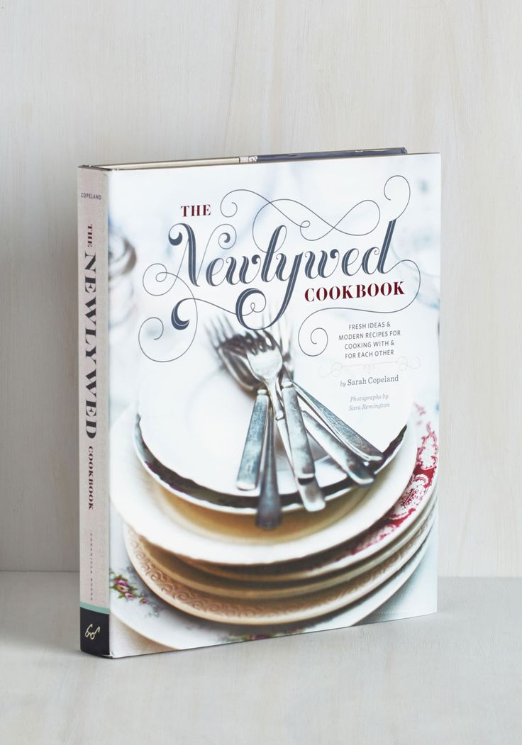 newlywed cookbook is a perfect year one anniversary gift