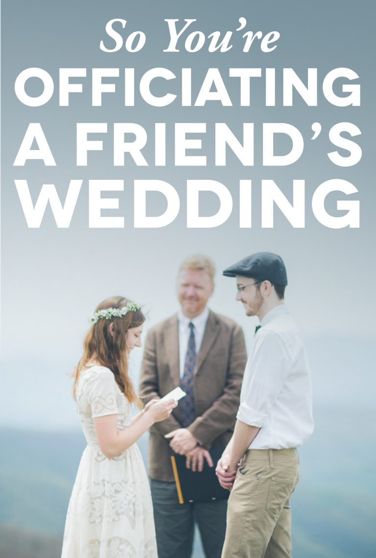 Wedding Officiant Speech.4 Things I Learned Writing My First Wedding Ceremony