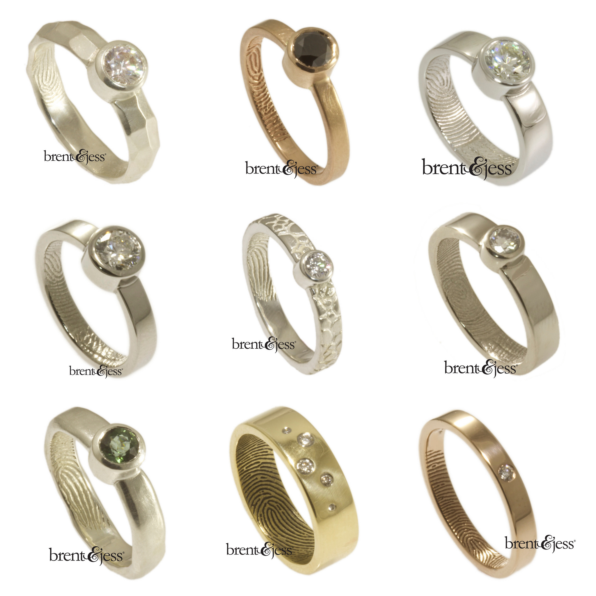 10 non traditional engagement rings for under 1k a practical wedding - Nontraditional Wedding Rings