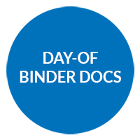 DAY-OF BINDER DOCS