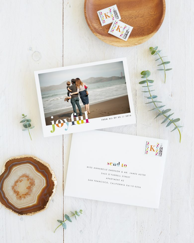 2016 holiday cards from minted