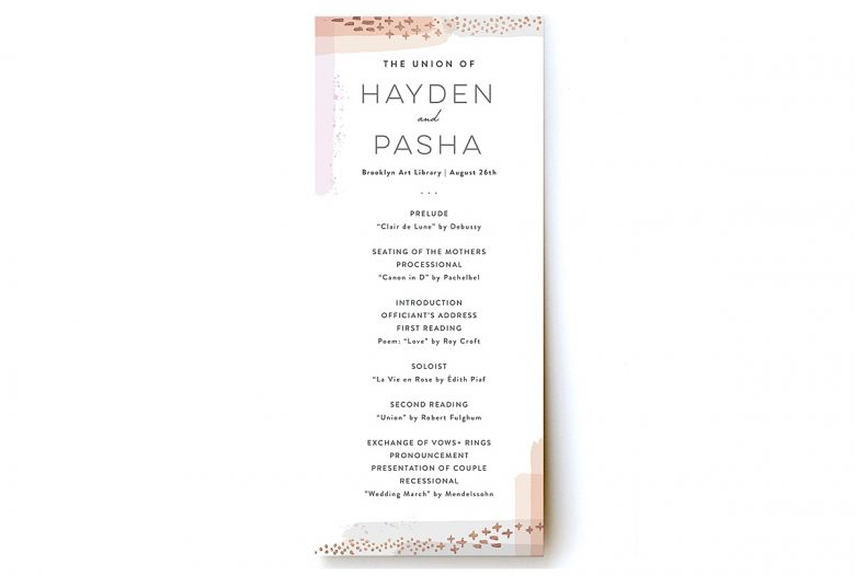 Artistic Border Foil-Pressed Flat Card Programby Hooray Creative for Minted