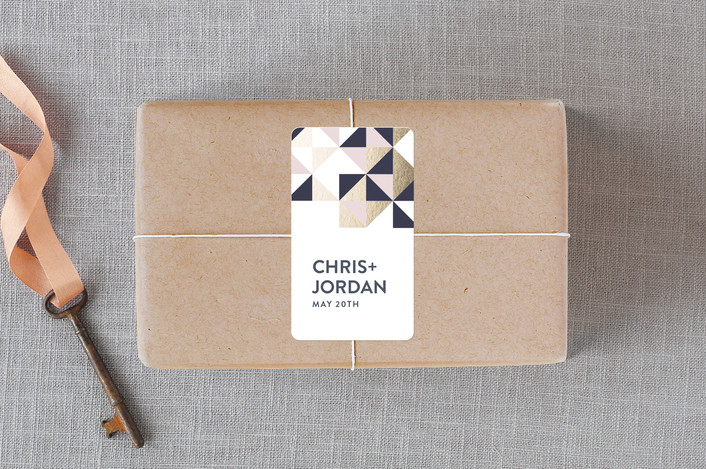 Lovely Geo Stickerby Ana Sharpe for Minted