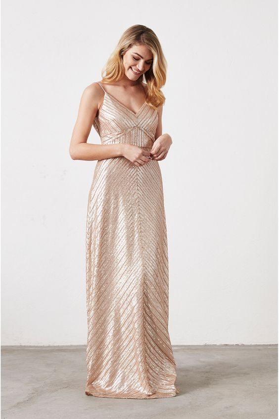 Golden Florence Gown